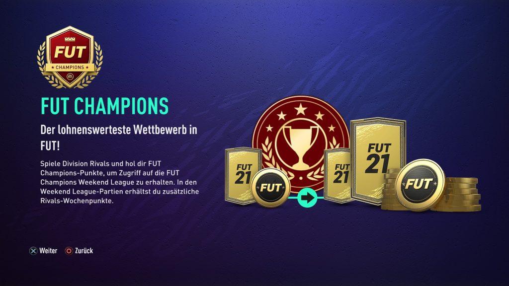 Liga de fin de semana FIFA 21
