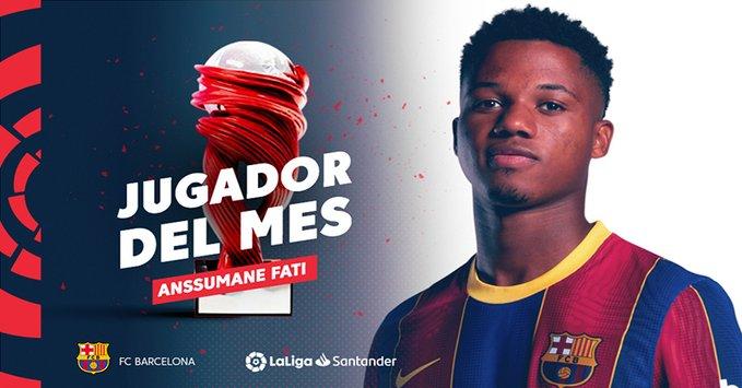FIFA 21: Ansu Fati POTM Septiembre de LaLiga