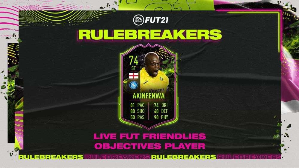 FIFA 21, goles de Akinfenwa para romper las reglas