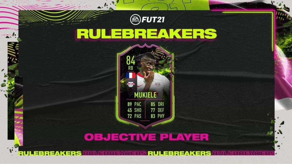 FIFA 21, goles mukiele Rulebreakers