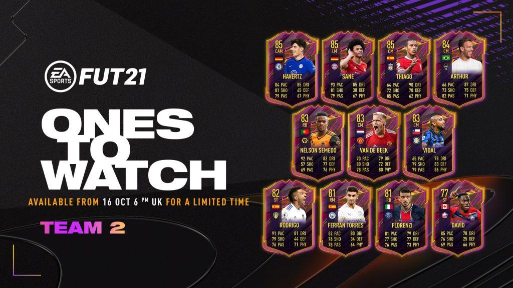 Equipo 2 de FIFA 21 OTW