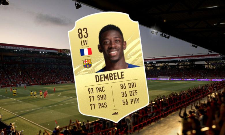 FIFA 21: Por eso Dembélé tiene que estar en tu Ultimate Team