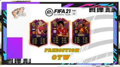 FIFA 21: Predicción OTW - Cartas especiales para ver