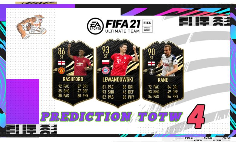 FIFA 21: Predicción TOTW 4 del modo Ultimate Team