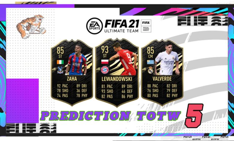 FIFA 21: Predicción TOTW 5 del modo Ultimate Team