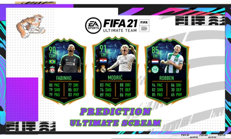 FIFA 21: Predicción Ultimate Scream
