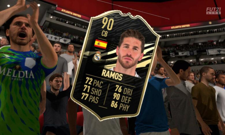 FIFA 21: TOTW 3 está en vivo, con el fuerte Sergio Ramos