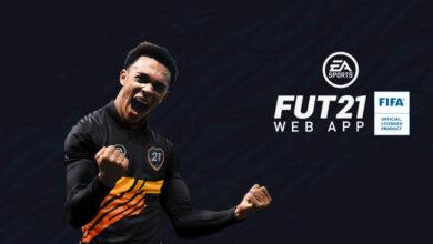 FIFA 21: actualización para la aplicación web y la aplicación complementaria
