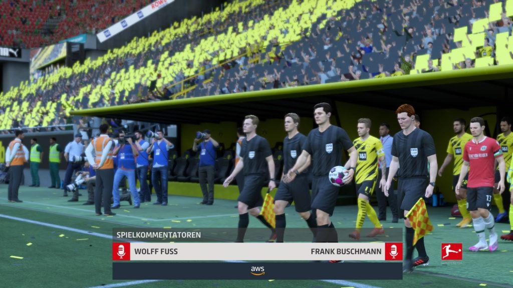 Comentaristas de FIFA 21