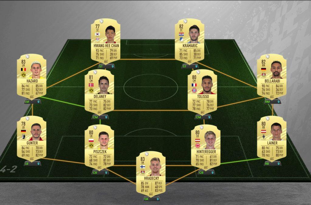 Equipo de la Bundesliga FIFA 21