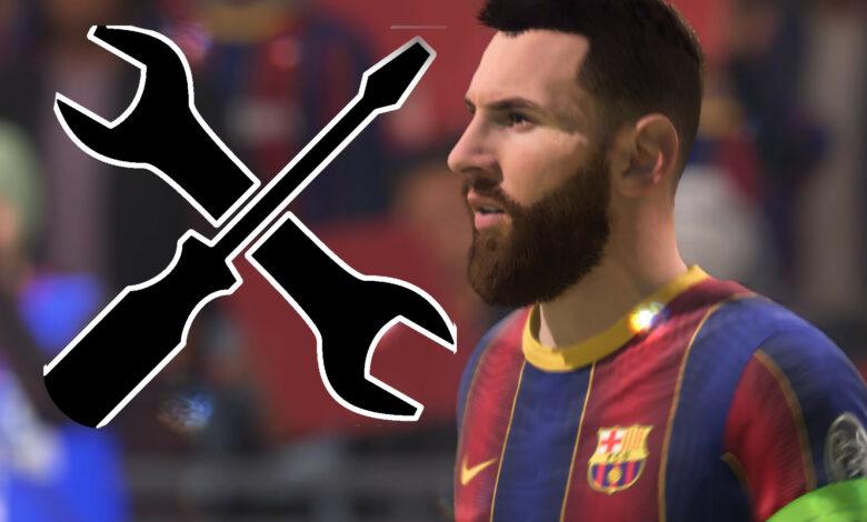 FIFA 21 está recibiendo su primera gran actualización, está adentro