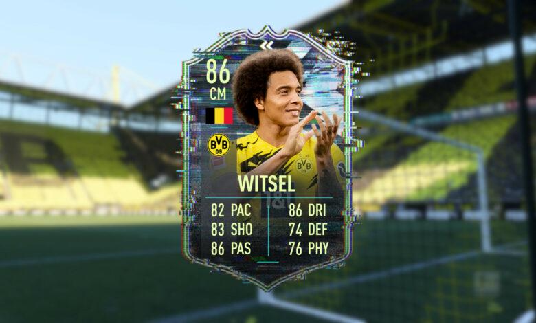FIFA 21: la nueva tarjeta Witsel es difícil, pero ¿realmente vale la pena?