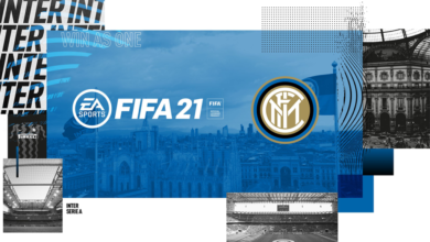 FIFA 21: portadas y fondos de Milán e Inter de Milán disponibles