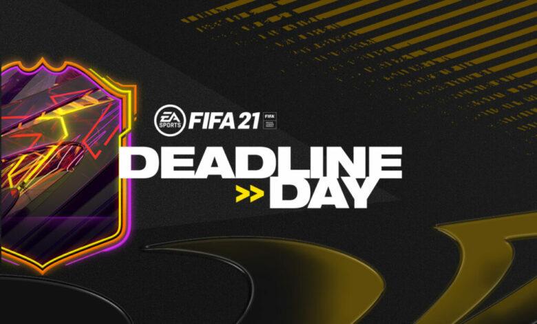 FIFA 21: se anuncia el evento Deadline Day para el modo FUT 21
