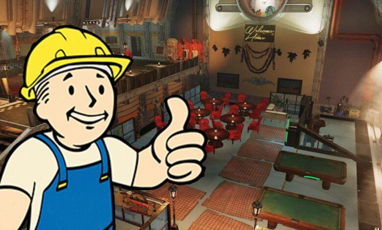 Fallout 76 muestra en el video lo fácil que es construir bóvedas realmente geniales usted mismo