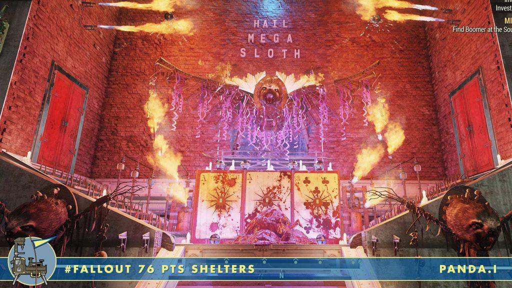 Fallout 76 Shelters Megasloth