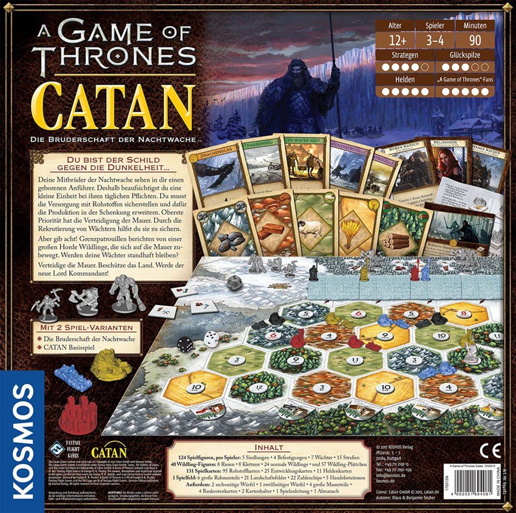 """Catan_GoT """"class ="""" wp-image-579168 """"srcset ="""" http://dlprivateserver.com/wp-content/uploads/2020/10/Finalmente-se-ofrecen-buenos-juegos-de-mesa-Amazon-Prime-Day.jpg 1024w, https://images.mein-mmo.de /medien/2020/10/Catan_GoT-300x298.jpg 300w, https://images.mein-mmo.de/medien/2020/10/Catan_GoT-150x150.jpg 150w, https://images.mein-mmo.de /medien/2020/10/Catan_GoT-768x763.jpg 768w, https://images.mein-mmo.de/medien/2020/10/Catan_GoT-231x231.jpg 231w, https://images.mein-mmo.de /medien/2020/10/Catan_GoT.jpg 1500w """"tamaños ="""" (ancho máximo: 1024px) 100vw, 1024px """"> Los colonos de Caten con el aspecto de Juego de Tronos y algunas mecánicas de juego muy especiales.  <p>Si ya conoces a Catan por dentro y por fuera, es posible que te diviertas más con el crossover de Game of Thrones. Lo especial de esto: juegas unos con otros y unos contra otros. El juego es más que una licencia sin contenido, porque hay un sistema bien pensado detrás de él.</p> <p>    Amazon Prime Day: ofertas para Nintendo Switch    </p> <p>Como es habitual en Catán, extrae materias primas para construir y crecer. Sin embargo, aquí asumes el papel de los Hermanos de la Guardia de la Noche y fortaleces el muro contra los salvajes. Lo especial de esto: cooperas con los otros jugadores, porque nadie quiere ver a los salvajes en los Siete Reinos. Además, también estás intentando convertirte en el nuevo Lord Comandante de la Guardia de la Noche. Por lo tanto, debe ser prudente con sus recursos para lograr ambos objetivos.</p> <p>El juego no es tan complejo como Anno 1800, pero más exigente que Andor Junior y por lo tanto el medio dorado. <strong>Los jugadores ocasionales y los fanáticos de la serie o los libros también pueden atacar aquí sin dudarlo.</strong></p> <p>        Un Catán de Juego de Tronos por 51,99 euros    </p> <p><em>Las ofertas enumeradas aquí se proporcionan con los llamados enlaces de afiliados. Con una compra a través de uno de estos enlaces, apoyas a DLPrivateServer: Recibimos una pequeña"""