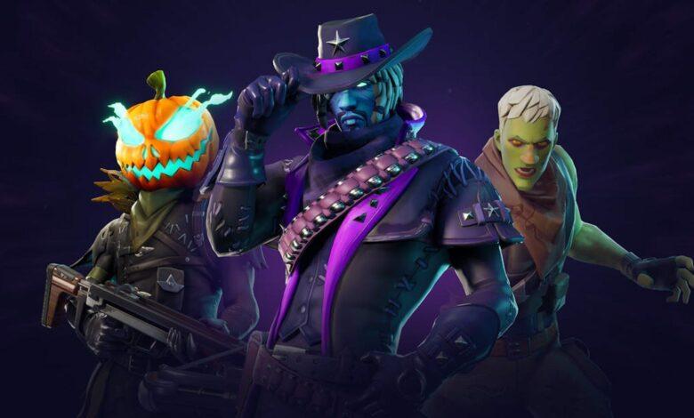 Fortnite: Leak muestra un paquete gótico para Halloween con 3 máscaras oscuras