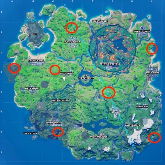 """fortnite-hexenbesen-fundorte-map """"class ="""" wp-image-582687 """"srcset ="""" http://dlprivateserver.com/wp-content/uploads/2020/10/Fortnite-aqui-puedes-encontrar-la-escoba-de-bruja-para-la.jpeg 567w, https : //images.mein-mmo.de/medien/2020/10/fortnite-hexenbesen-fundorte-map-300x300.jpeg 300w, https://images.mein-mmo.de/medien/2020/10/fortnite- hexenbesen-fundorte-map-150x150.jpeg 150w, https://images.mein-mmo.de/medien/2020/10/fortnite-hexenbesen-fundorte-map-231x231.jpeg 231w """"tamaños ="""" (ancho máximo: 567px) 100vw, 567px """"> En todos los lugares marcados encontrarás una casa de brujas  <h2>Encuentra casas de brujas – localidades</h2> <p><strong>¿Dónde están las casas?</strong> Puede encontrar las casas de brujas en lugares que no están nombrados en el mapa. Después de la actualización 14.40, estos se agregaron al mapa. Aquí estás:</p> <ul> <li>Al suroeste de Sweaty Sands, en el borde del mapa (campo de cuadrícula A4)</li> <li>Noroeste de Salty Springs (campo de cuadrícula C4)</li> <li>Al norte del dominio de Doom (campo de cuadrícula D2)</li> <li>Al sureste de Catty Corner, en el borde del mapa (campo de cuadrícula H7)</li> <li>Al sur de Slurpy Swamp, en los pantanos (campo de cuadrícula C7)</li> <li>En medio de The Authority y Lazy Lake (campo de cuadrícula F5)</li> <li>Al suroeste de Steamy Stacks, en el borde del mapa (campo de cuadrícula H2)</li> </ul> <p>Una visita a estas casas no solo vale la pena para esta tarea, porque también debes encontrar escobas de bruja para otro desafío. Estos también se encuentran en las chozas de brujas.</p> <p>Si prefiere ver las ubicaciones exactas en video, puede hacerlo aquí:</p> <p>Contenido editorial recomendado En este punto, encontrará contenido externo de YouTube, que complementa el artículo Mostrar contenido de YouTube Doy mi consentimiento para que se me muestre contenido externo. Los datos personales se pueden transmitir a plataformas de terceros. Lea más sobre nuestra política de privacidad.</p> <p> Enlace al contenido de """