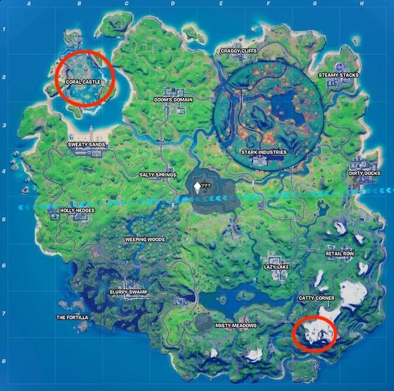 """mapa-del-punto-más-alto-y-más-profundo-de-fortnite """"class ="""" wp-image-583009 """"srcset ="""" https://images.mein-mmo.de/medien/2020/10/fortnite-hoechster-und-tiefster- dot-map.jpeg 567w, https://images.mein-mmo.de/medien/2020/10/fortnite-hoechster-und-tiefster-punkt-map-300x298.jpeg 300w, https: //images.mein- mmo.de/medien/2020/10/fortnite-hoechster-und-tiefster-punkt-map-150x150.jpeg 150w """"tamaños ="""" (ancho máximo: 567px) 100vw, 567px """"> En las ubicaciones marcadas encontrará el punto más alto y más bajo      <h2>El punto más alto y más bajo del mapa: esos son ellos</h2> <p>Te mostraremos con más detalle cuál es el punto más alto y cuál es el punto más bajo en el mapa de la Temporada 4 – Capítulo 2, para que sepas dónde bailar.</p> <h3>Punto más alto – Mount Kay</h3> <p><strong>Dónde tienes que ir</strong> También puede encontrar el punto más alto en la montaña más grande, que se encuentra en el mapa de Fortnite. Este es Mount Kay, que se eleva por encima de todos los demás edificios.</p> <p>Para esta tarea tienes que aterrizar en la cima de la montaña y bailar allí. Si aún quieres una escoba de bruja nueva, puedes encontrar una cerca de Mount Kay.</p> <p>    <img loading="""
