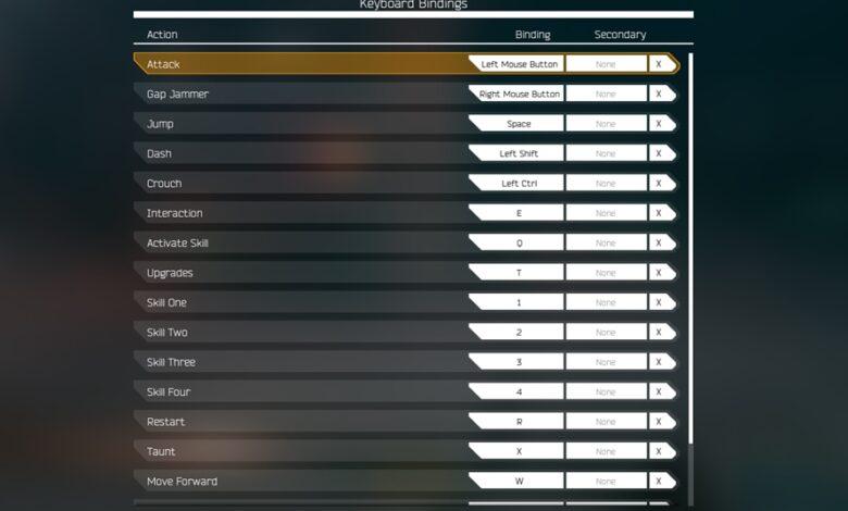 Ghostrunner-controls-pc