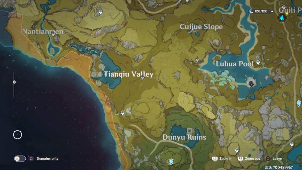 ubicación de los recién nacidos geovishap impacto genshin