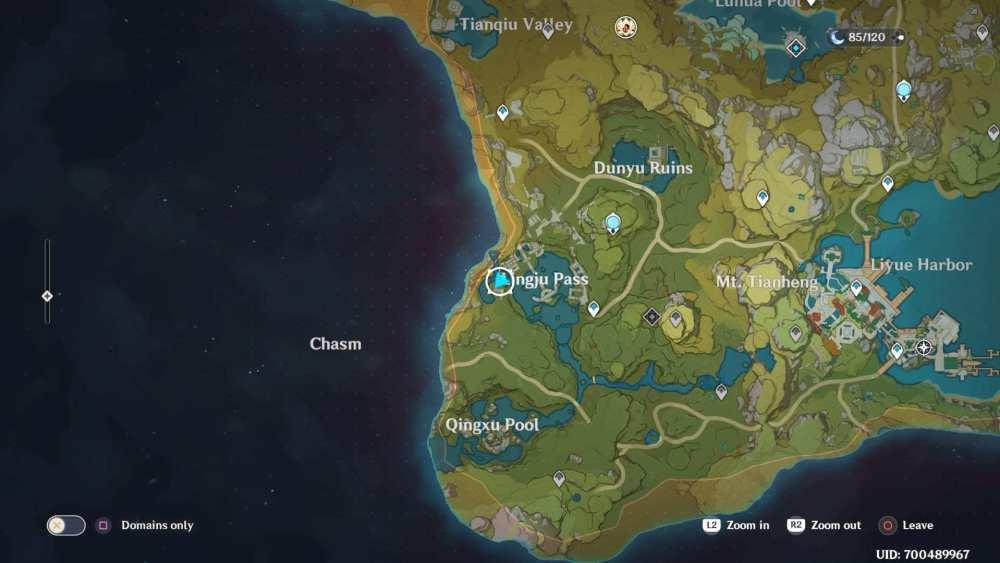 Impacto De Genshin Y Este Tesoro Va A La Guía De Misiones