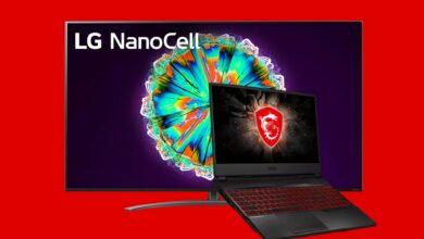 LG Nanocell TV y portátil para juegos MSI al mejor precio en MediaMarkt