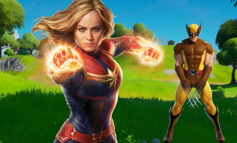 La fuga de Fortnite muestra: es probable que el Capitán Marvel entre en juego pronto: este es su ataque