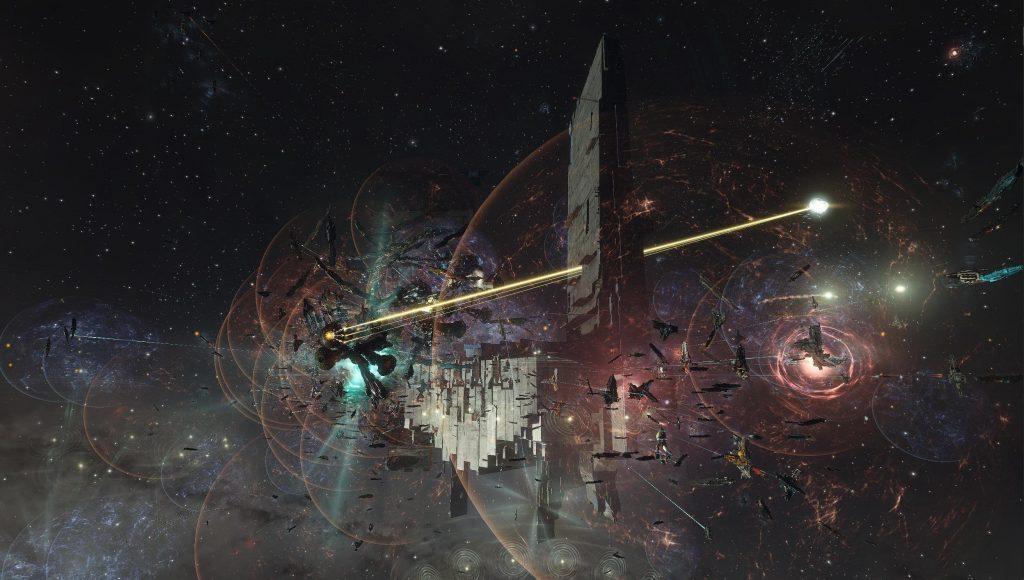 EVE Online FWST-8 batalla