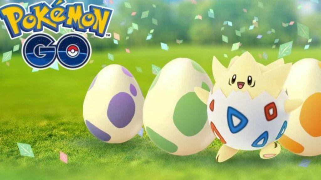 Huevos Pokemon GO