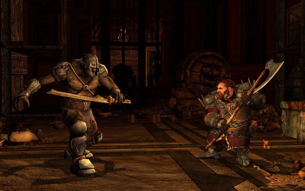 Captura de pantalla de Lord of the Rings Online War of Three Peaks