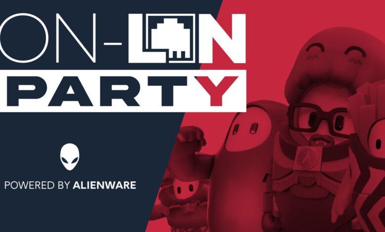 Natascha, Julius, Fixx & der Heider en la fiesta de Alienware On-LAN