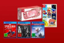 Photo of Ofertas de MediaMarkt: paquete de éxitos de Nintendo Switch Lite y PS4 más barato