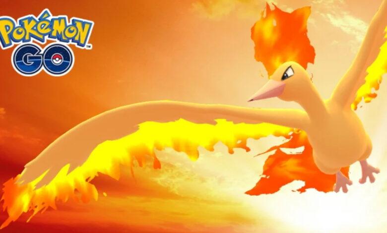 Pokémon GO: Cómo derrotar a Moltres por dos - Ya en el nivel 25
