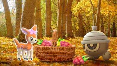 Pokémon GO comienza el evento de otoño con Sesokitz y el esperado Shiny