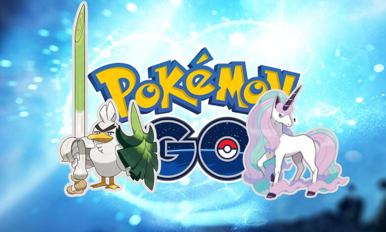 Pokémon GO muestra dos Pokémon Galar más: ¿qué tan fuertes son?