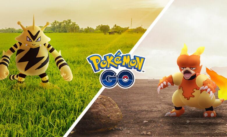 Pokémon GO tiene 2 Community Days en noviembre, con Magmar y Elektek