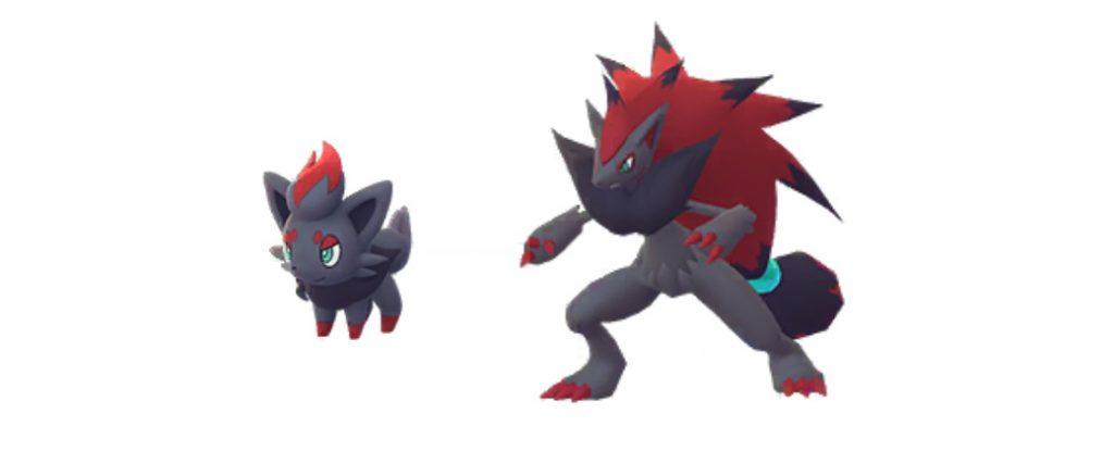 Zorua y Zoroark Pokemon GO