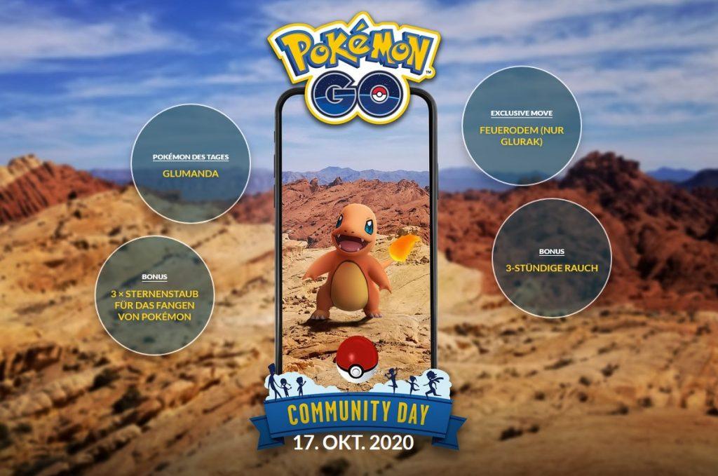 Descripción general de las bonificaciones de Charmander del día de la comunidad de Pokémon GO