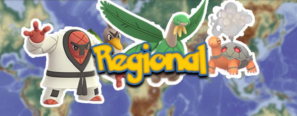 Título regional de Pokémon GO Gen 1 Gen 4 Gen 5