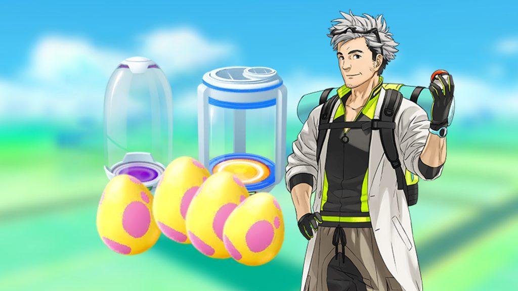 Título de la incubadora de huevos de sauce de Pokémon GO