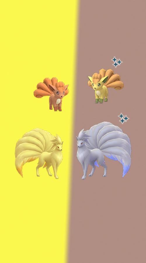 Pokémon GO Shiny Vulpix Vulnona