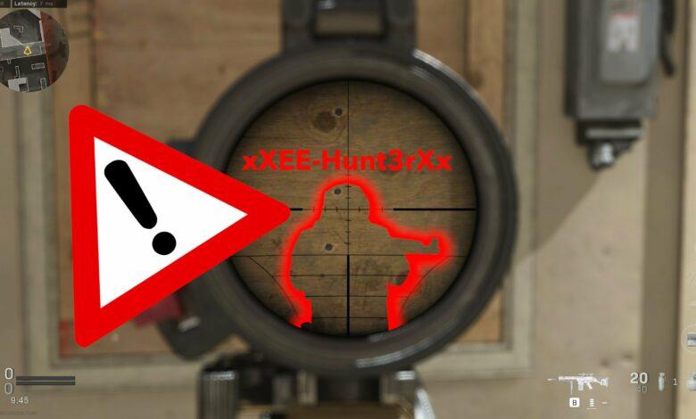Precaución: los tramposos de Feige en CoD Warzone están al acecho debajo del mapa en busca de víctimas