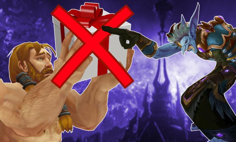 Puedes cancelar una versión determinada de Shadowlands, pero serás malos amigos