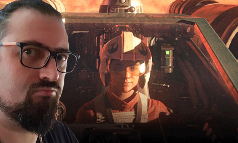 Quiero jugar a Star Wars Squadrons como deberían, pero los malditos nerds de los aviones lo están arruinando todo.