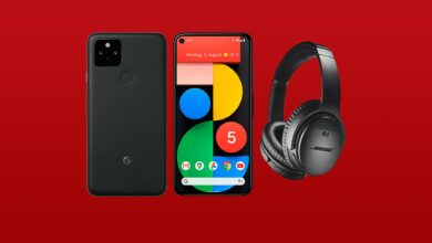 Reserva Google Pixel 5 y obtén auriculares Bose gratis
