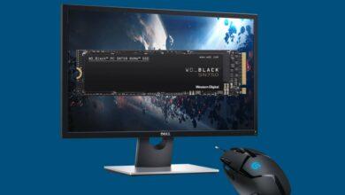 SSD rápido, monitor de juegos de bajo presupuesto y más reducido en Cyberport