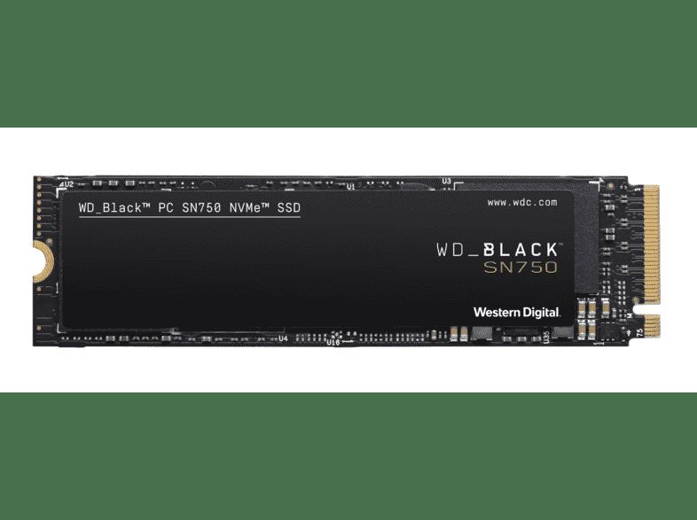 SSD WD negro SN750 (1 TB)