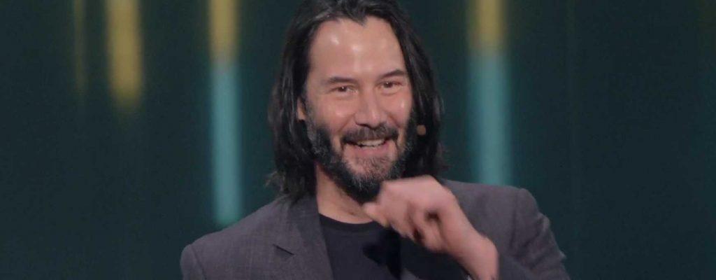 E3 Expresión de Keanu Reeves
